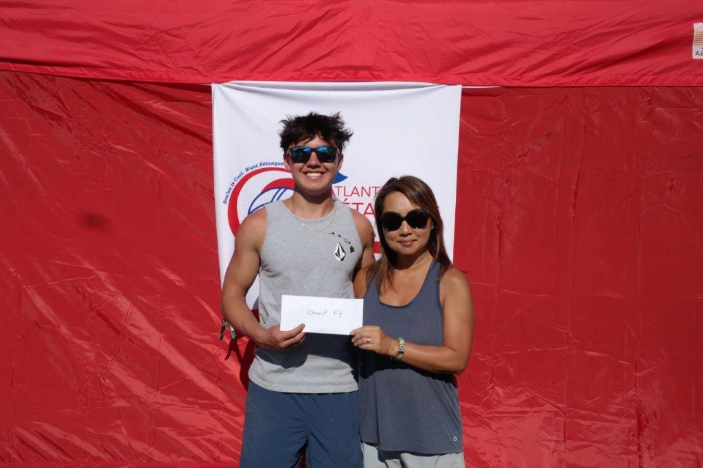 1st place Champion A Parker & Bo Edwards (NC)