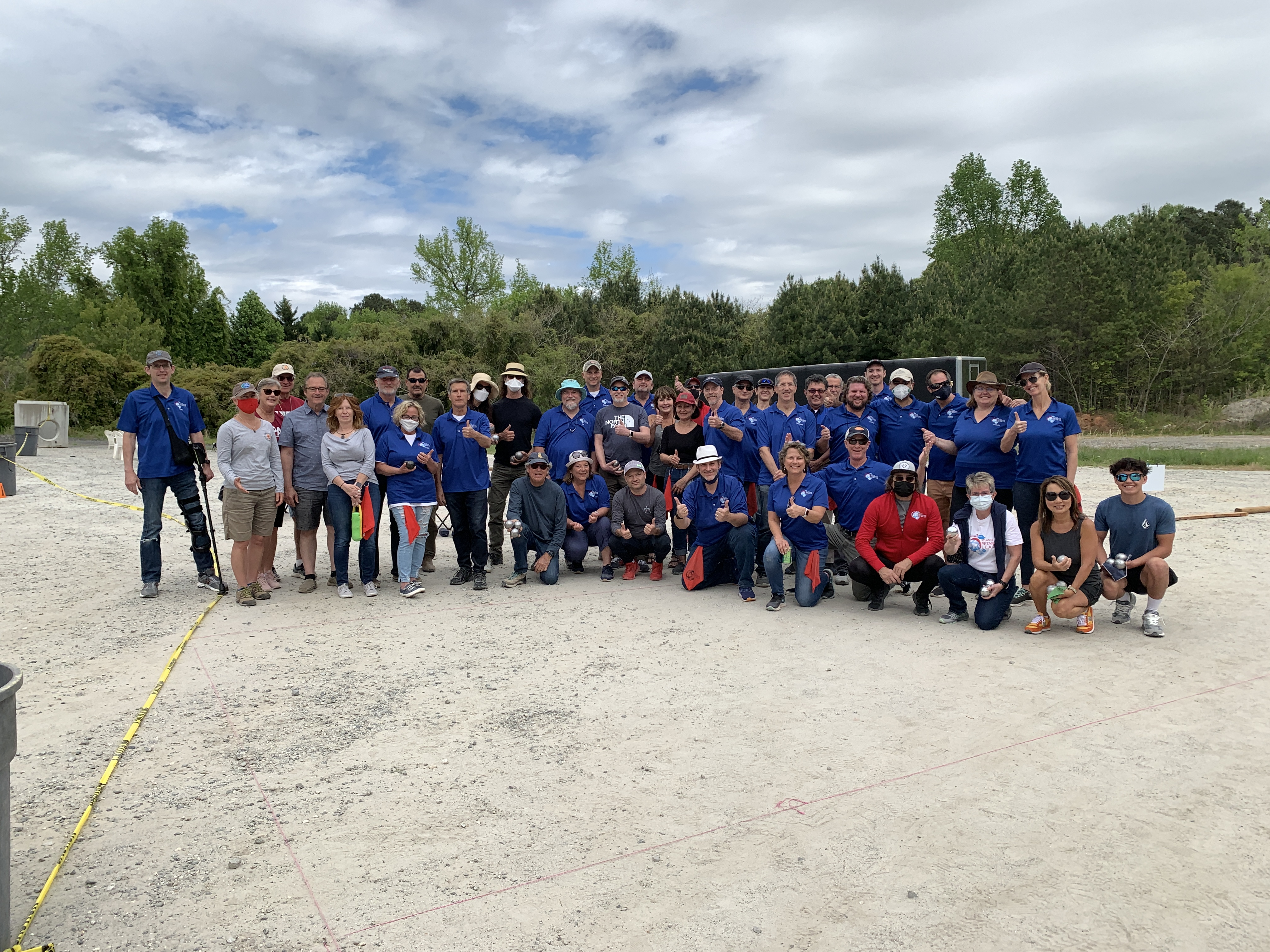 April Boules Day 2021 Group