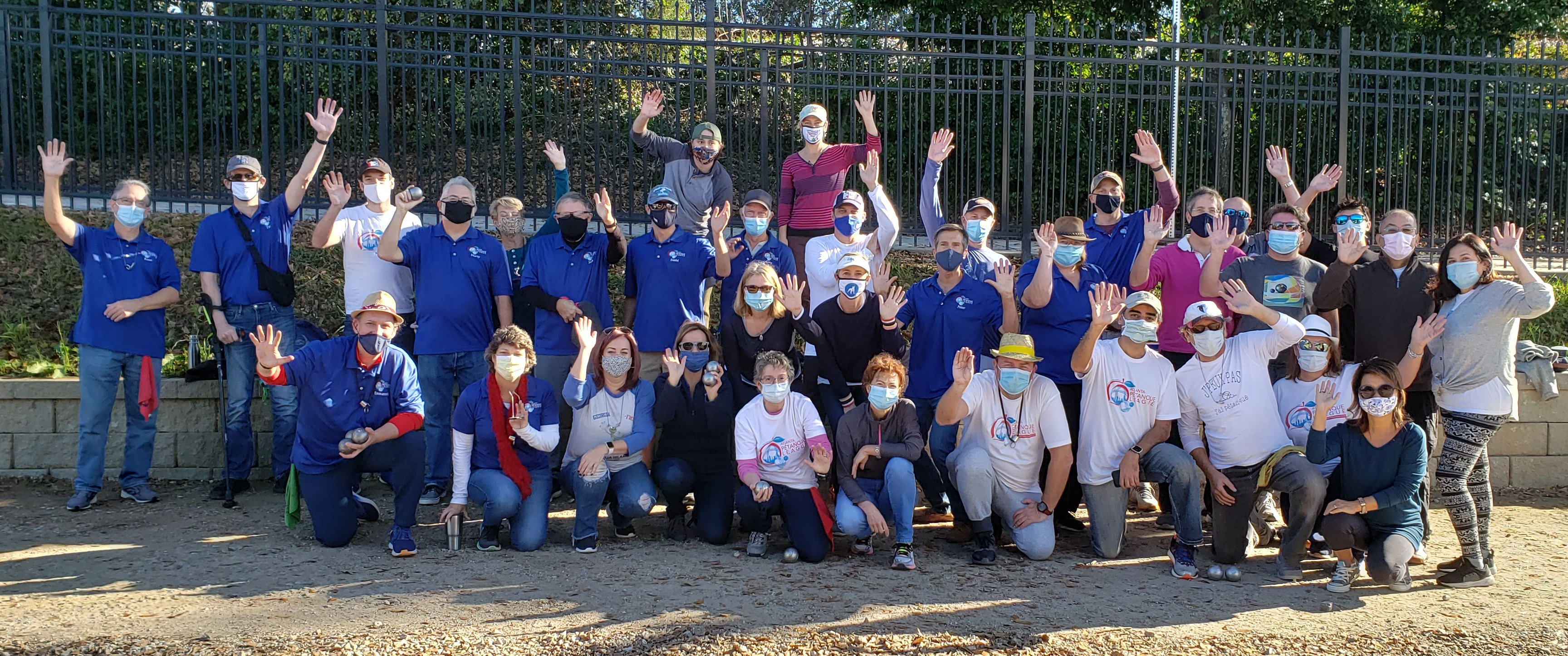 "Group Picture ""Masked"""