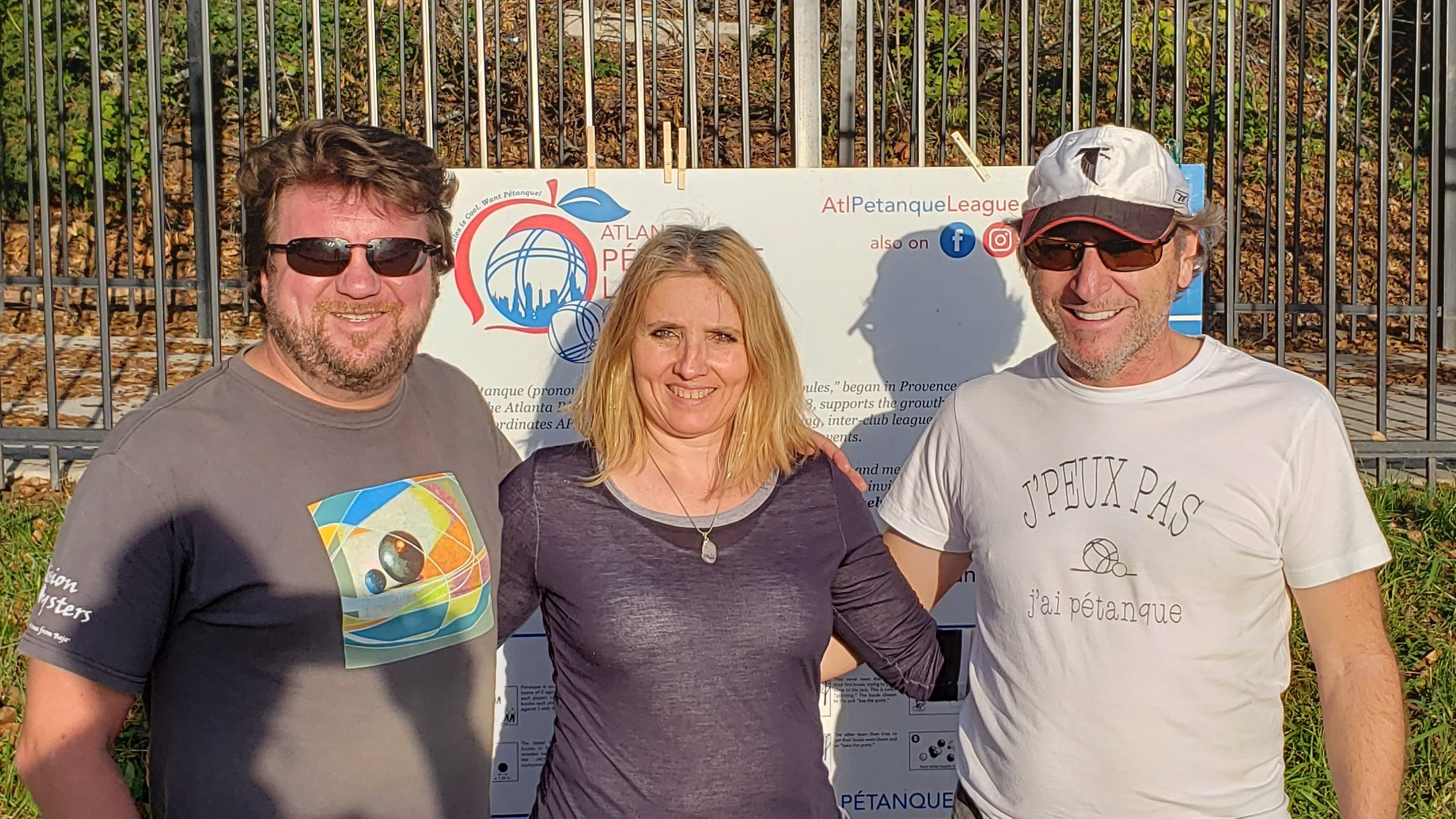 2nd Place Cyrille, Cathy, Michel