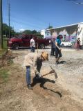 More manual digging