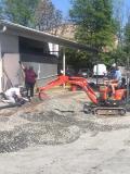 flatting the gravel
